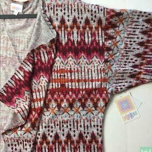LuLaRoe Shirley Large NWT Sweater Fabric